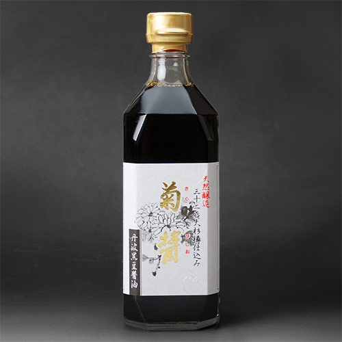 【ヤマロク醤油】菊醤・鶴醤 2本セット
