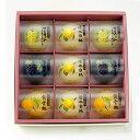 【角南製造所】岡山フルーツゼリー詰合せ9個入り (清水白桃、黄金桃、マスカット、ニューピオーネ)