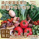 【送料無料】 道の駅 厳選 採れたて 新鮮 野菜 セット 10品目以上 詰め合わせ 【富楽里とみやま】
