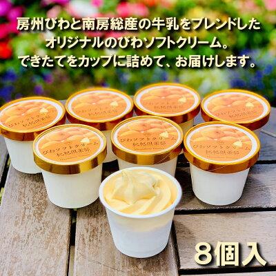 お取り寄せ(楽天) びわアイスクリーム 8個 セット 枇杷倶楽部 価格3,200円 (税込)