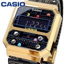 腕時計 ウォッチ 時計 あす楽 CASIO カシオ チープカシオ 海外モデル F-100復刻モデル PAC-MAN パックマン デジタル ユニセックス A100WEPC-1B [並行輸入品]・・・