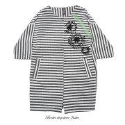 【sp】【1219】【送料無料】ハンドペイントジャケット(L'AGENTE,ラジェンテ)9号【ミセスファッション】【40代】【50代】【60代】