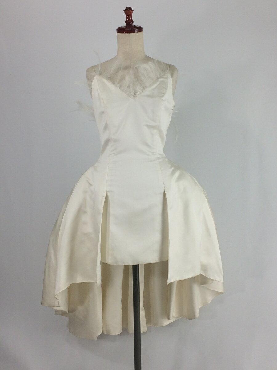 【レンタル】 ミニウエディングドレス