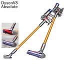 ダイソン v8 アブソリュート コードレス 掃除機Dyson V8 Absolute cordless vacuum cleaner 米国正規品 並行輸入品 米国V8シリーズ最上級モデル コードレス掃除機