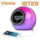 iHomeiBT22BluetoothBedsideDualAlarmClockwithUSBChargingandLine-in�����ۡ���iBT22�ƹ���������