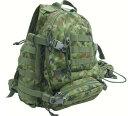 戦人-senjin-陸上自衛隊迷彩 機能性抜群のポケット付きバッグデューティバッグ