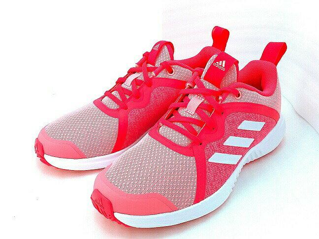 靴, スニーカー (4301800)adidas FORTARUN X K GLOPNK-FTWWHT-SHORED(EF9716) X K (21cm-25cm)
