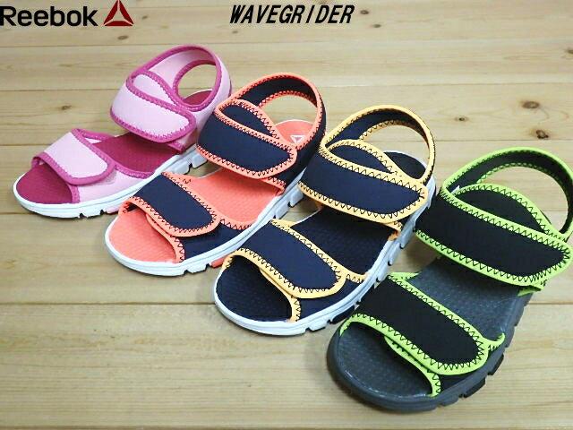 靴, サンダル 73118 Reebok WAVEGRIDERPINK(CN8613)NAVYGU AVA(CN8612)NAVYGOLD(CN8611)B LACKLIME(CN8609) (17cm-21cm)