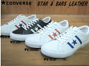 ♪CONVERSE STAR & BARS LEATHER▼...