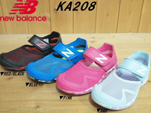 686d0b9b9e333 ♪New Balance KA208▽RED/BLACK(RBY)・BLUE(BLY). ¥2,000. ニューバランス new balance  キッズ サンダル ...