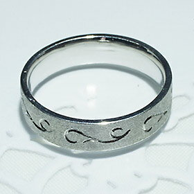 ペアリング・結婚指輪・マリッジリングプラチナリング(Pt900)男性用「5204MP」-5