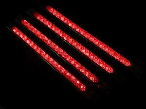 LEDテープによる鮮やかな発光による車高灯です。4本セット!車高灯!LEDモールアンドン 300mm...