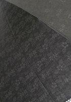 より涼しげな皇室御用達前原光栄商店「前原傘バラ柄透かし模様レース日傘(UVカット加工、晴雨兼用)折りたたみブラック手元楓」【送料無料】【smtb-m】