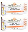 2箱セット リポスフェリックビタミンC 1000mg 30包入/リポソーム 高濃度ビタミンC サプリメント lypo-spheric