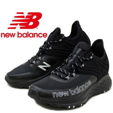New Balance ニューバランス メンズスニーカーMTROVLK フレッシュフォームトレイルローブ FRESH FOAM TRAIL ROAV M クッション性 トレイルシューズ ランニングシューズ カジュアル 紳士 ブラック /MR /WK