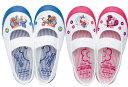 キッズ上履き ミッキー 1足なら定形外メール便(送料340円)も可能 DisneyなかよしDN08 ディズニー ミッキーマウス ムーンスター 日本製 ピンク ブルー キャラクター 上靴 14cm 15cm 16cm 17cm 18cm