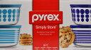 パイレックス PYREX ガラスストレージコンテナ 4個セット 蓋付き...