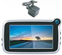 高画質 ドライブレコーダー 前後カメラ GPS内蔵 リアカメラ ドラレコ 前後 2.7インチ コンパクトサイズ