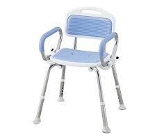 【ナビス】業務用シャワー椅子ブルー