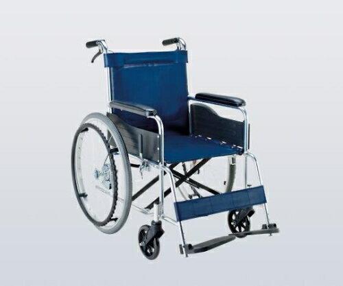 車椅子(アルミ製) ビニールレザー(紺):Shop de clinic