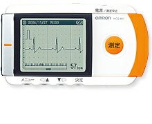 オムロン 携帯型心電計 HCG-801 【smtb-...