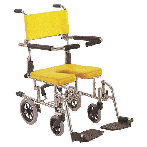【無料健康相談付】シャワー用車いす  レッド  KS10【02P06Aug16】:Shop de clinic