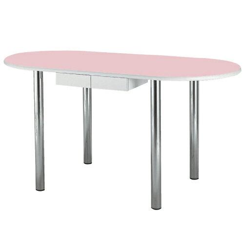 【無料健康相談 対象製品】ナーステーブル(楕円型)  ピンク W1800×D1200×H900mm NAS-1812R【02P06Aug16】:Shop de clinic