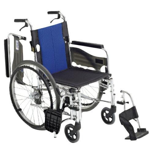 【送料無料】【無料健康相談 対象製品】車いす(アルミ製)自走用 背折れ BAL-3【02P06Aug16】