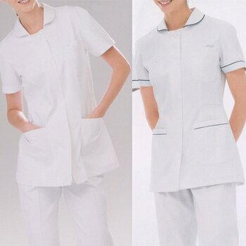 【ナガイレーベン】 女子上衣  FT-4412 サイズ:LLホワイト 【ナース服 白衣】【02P06Aug16】