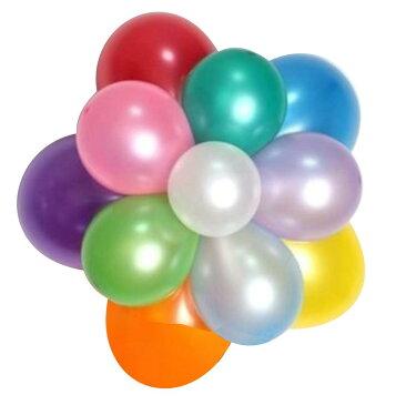 選べるカラー バルーン 約25cm 100個 セット 風船 誕生日 飾り付け バルーン パーティー バースデー グッズ 飾り