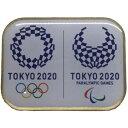 【ポイント10倍!】東京 2020 TMG 公式 オリンピック パラリンピック エンブレム コラボ ピンバッジ ス...