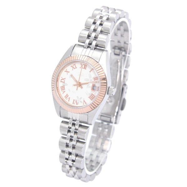 オレオール レディス腕時計 10気圧防水機構 AUREOLE 日本製 SW-592L-E 桜 ギフト プレゼント