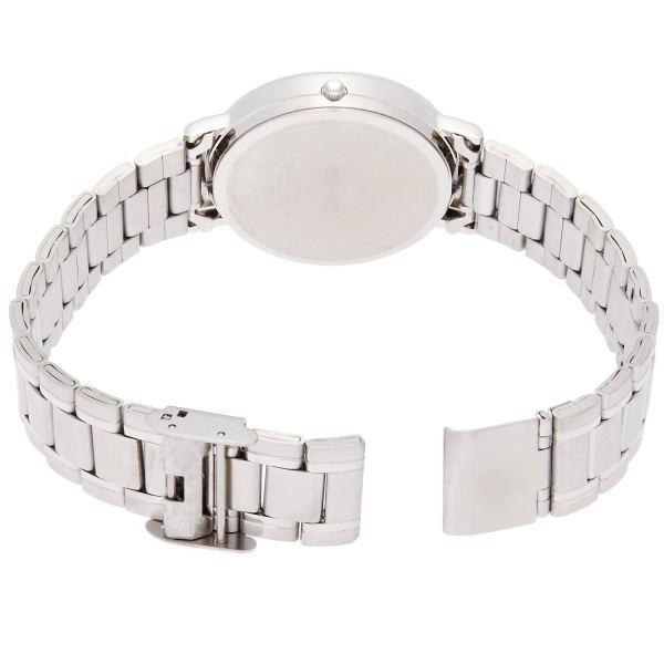 シチズン Q&Q スタンダード メンズ腕時計 バーインデックス シルバー A206-201