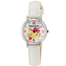 ハローキティ 時計 HELLO KITTY キッズ腕時計 ホワイト HK07-131 ギフト プレゼント 誕生日