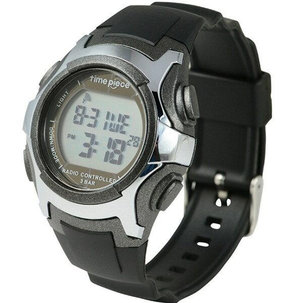 電波ソーラー(デュアルパワー) デジタル時計 タイムピース Time Piece TWP-001GM