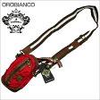OROBIANCO オロビアンコ ショルダーバッグ レッド系 GRAFFIO MINI-G OR168 PORPORA-03 ギフト プレゼント