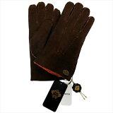 オロビアンコ 手袋 手ぶくろ グローブ ブラウン オレンジ ムートン 洋革 メンズ イタリー製 ORM-1409 ギフト プレゼント
