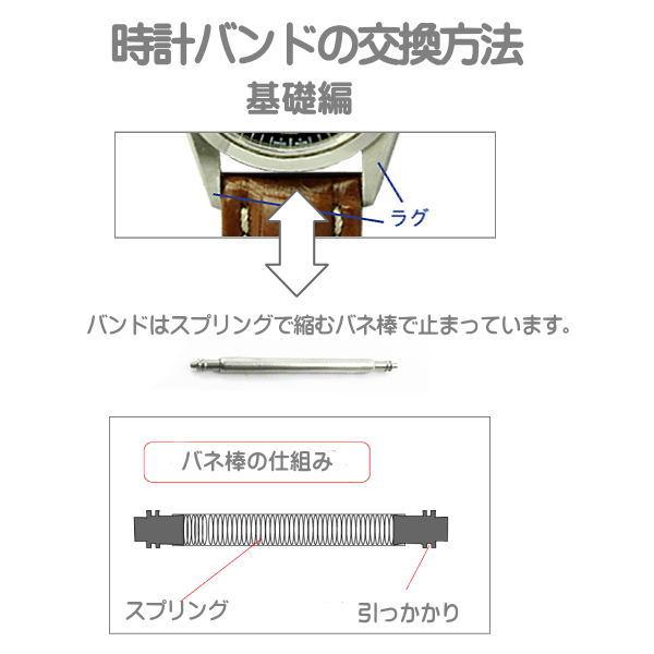 時計ベルト皮革バンド 時計際幅 14mm 美錠幅 12mm 茶 クロコダイル サイド ミランツェ メール便利用で(代引き不可)