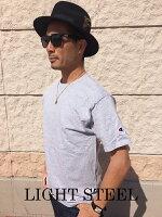 USCHAMPIONチャンピオン袖ロゴ半袖Tシャツ袖ワッペンワンポイント無地USAモデルワンポイントtシャツロゴtシャツメンズアメカジ本国シンプル刺繍