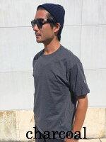 USCHAMPIONチャンピオン袖ロゴ刺繍半袖Tシャツ袖刺繍ワンポイント無地USAモデルワンポイントtシャツロゴtシャツメンズアメカジ本国シンプル