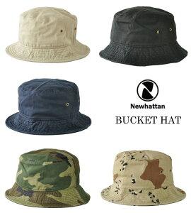 カラー追加 ニューハッタン バケットハット NEWHATTAN CLASSIC SAFARI BUCKET HAT ニューハッタン バケットハット バケハ サファリハット メンズ レディース 帽子 サファリハット