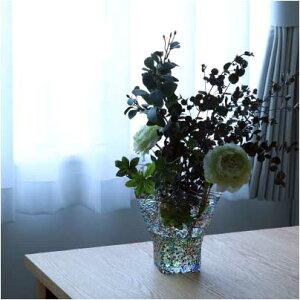 フリル花器
