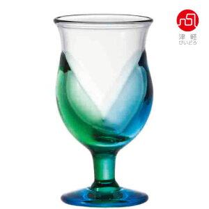 青森台付きグラス