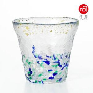 氷華金彩ロックグラス宵