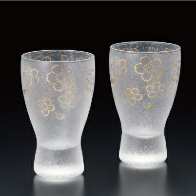 プレミアム桜酒グラスペアセット