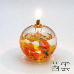 津軽びいどろオイルランプ【ガラス/石塚硝子/アデリア】