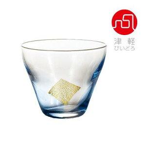盃藍【冷酒/ぐい呑み/ミニグラス/ガラス食器/手作り/津軽びいどろ/石塚硝子/アデリア】