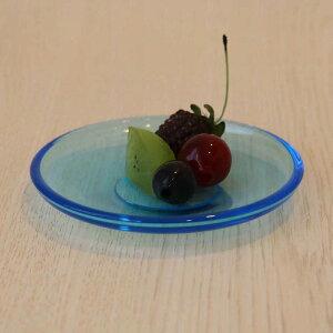 水明豆皿3個入【豆皿/ハンドメイド/庄内/ガラス食器/石塚硝子/アデリア】