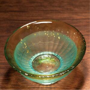 津軽びいどろ金彩盃爽華父の日冷酒おちょこぐいのみミニグラスガラス食器石塚硝子アデリア