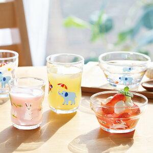 つよいこグラスMかくれんぼ【グラス/ガラス食器/アデリア/石塚硝子】